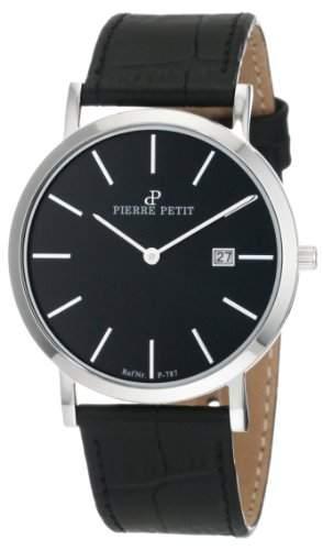 Pierre Petit Unisex-Armbanduhr Nizza Analog Leder P-787A