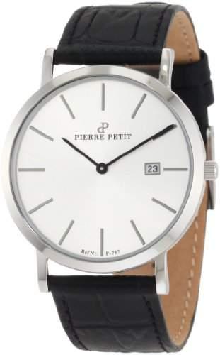 Pierre Petit Unisex-Armbanduhr Nizza Analog Leder P-787B