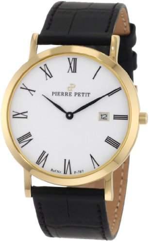 Pierre Petit Unisex-Armbanduhr Nizza Analog Leder P-787D