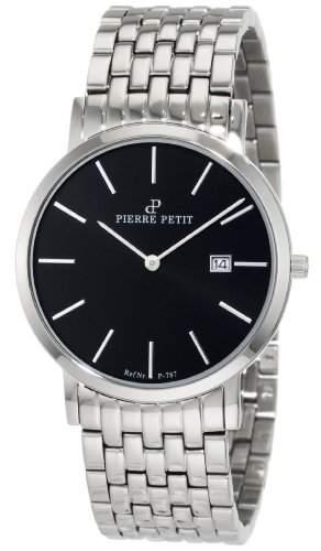 Pierre Petit Unisex-Armbanduhr Nizza Analog Edelstahl P-787E
