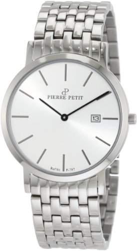 Pierre Petit Unisex-Armbanduhr Nizza Analog Edelstahl P-787F
