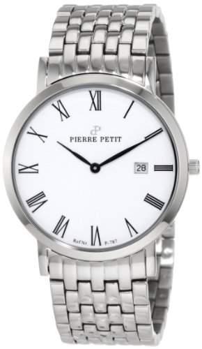 Pierre Petit Unisex-Armbanduhr Nizza Analog Edelstahl P-787G