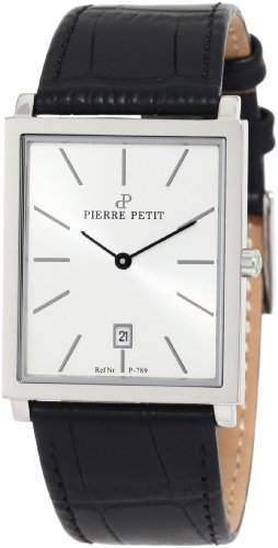 Pierre Petit Herren-Armbanduhr Nizza Analog Leder P-789B