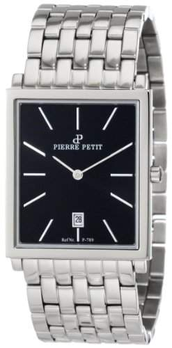 Pierre Petit Herren-Armbanduhr Nizza Analog Edelstahl P-789D