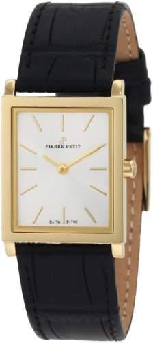 Pierre Petit Damen-Armbanduhr Nizza Analog Leder P-790C