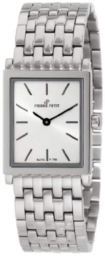 Pierre Petit Damen-Armbanduhr Nizza Analog Edelstahl P-790E