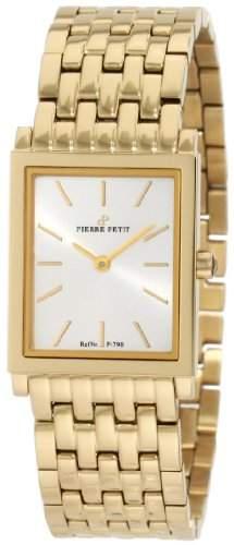Pierre Petit Damen-Armbanduhr Nizza Analog Edelstahl beschichtet P-790F