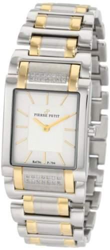 Pierre Petit Damen-Armbanduhr Laval Analog Edelstahl P-794F