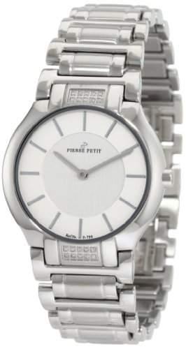 Pierre Petit Damen-Armbanduhr XS Laval Analog Edelstahl P-799I