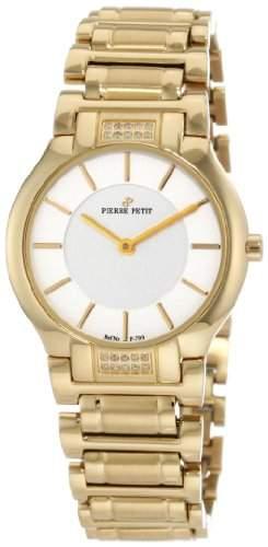 Pierre Petit Damen-Armbanduhr XS Laval Analog Edelstahl beschichtet P-799K