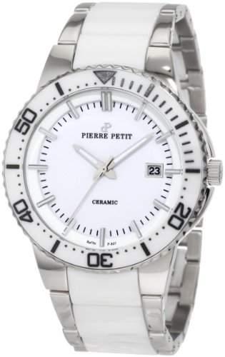 Pierre Petit Herren-Armbanduhr XL Colmar Analog Keramik P-807B