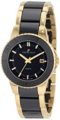 Pierre Petit Damen-Armbanduhr XS Colmar Analog Keramik P-808C