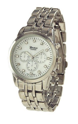 Faux Mother of Pearl Kleid Chronograph