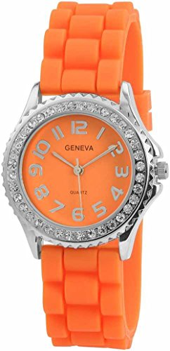 Geneva Armbanduhr SHA SYL ARANCIO