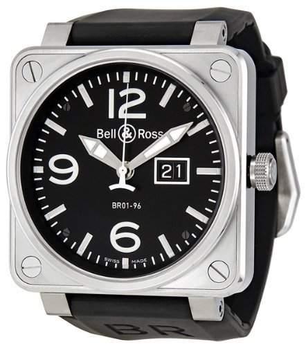 Bell & Ross Aviation BR01-96 Grande Date BR0196-BL-ST