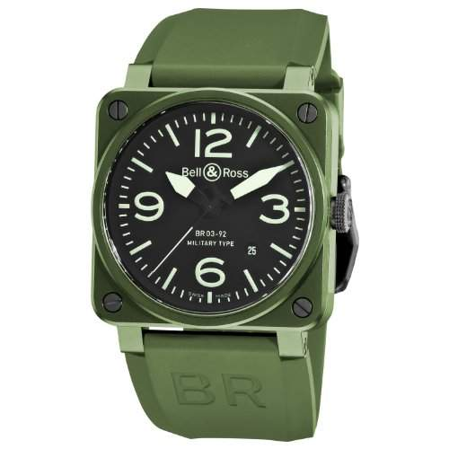 Bell & Ross Aviation BR03-92 BR0392-Ceram-Mil
