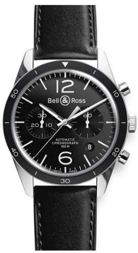 Bell & Ross BR 126 Black Bezel BRV126-BL-BESCA