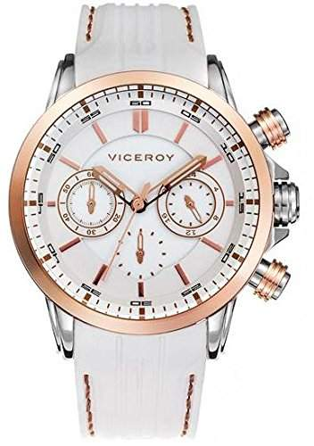 Viceroy Fernando Alonso-Stainless Steel case- White rubber-White dial-
