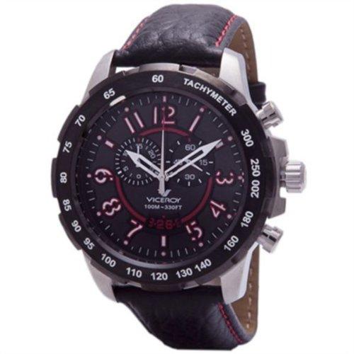 Chronograph Edelstahl bicolor schwarz Gurt VICEROY 432133 75