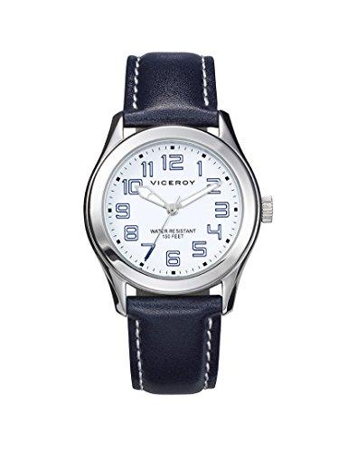 Kind Uhr Viceroy 432301 04 Leder Schwarz Quartz