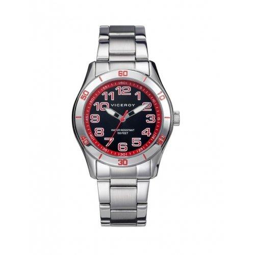 Kind Uhr Viceroy 432305 54 Quartz Black Steel
