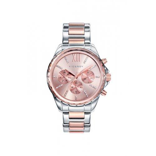 Reloj Viceroy 40930 73 Stahl Frau Rosa Multifunktions