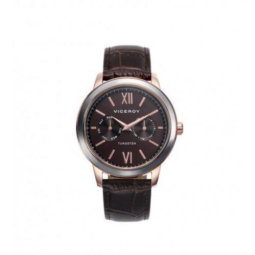 Reloj Viceroy 40991 43 Steel Leder Man IP Rosa Multifunktions
