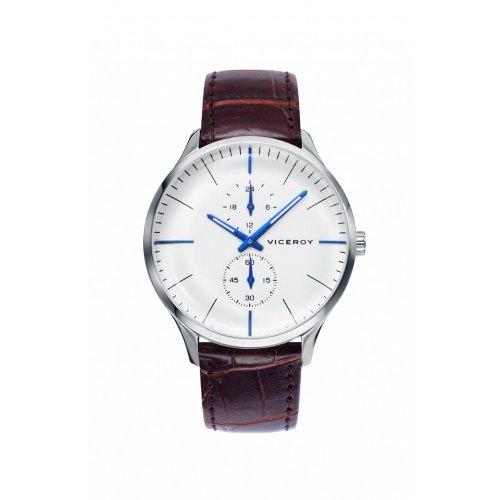 Reloj Viceroy 42219 07 Stahl Multifunktions Leder Mann