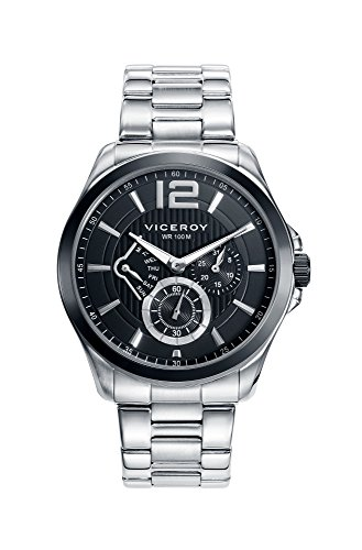 Reloj Viceroy 46679 53 Stahl Multifunktions Black Man