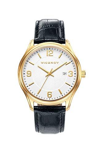Sehen Sie Viceroy 401035 95 White Man Leder Kalender