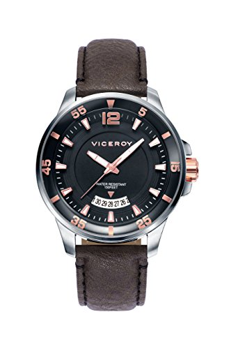 Sehen Sie Viceroy 42221 55 Black Male Leder Kalender