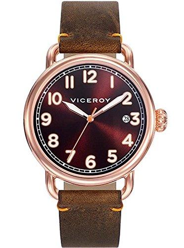 Sehen Sie Viceroy 42251 45 Herren Brown Leder Kalender