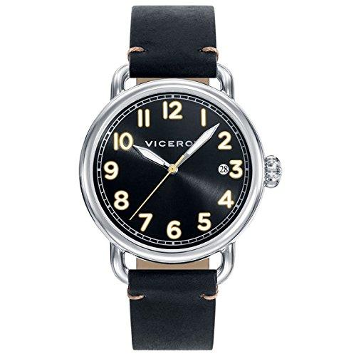 Sehen Sie Viceroy 42251 55 Black Male Leder Kalender