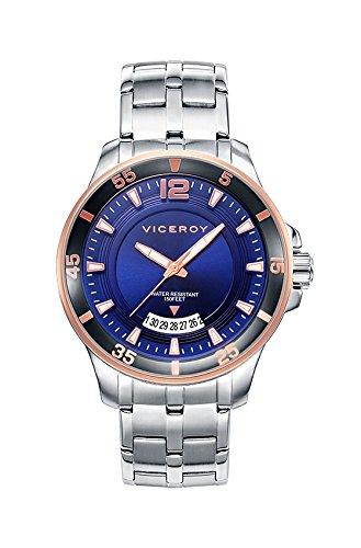 Sehen Sie Viceroy 42255 35 Steel Blue Man Kalender