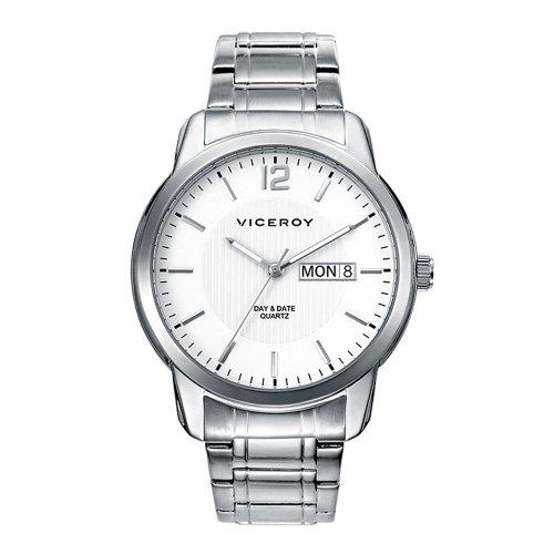 Uhren Viceroy 46643 05 Stahlquarz White Man