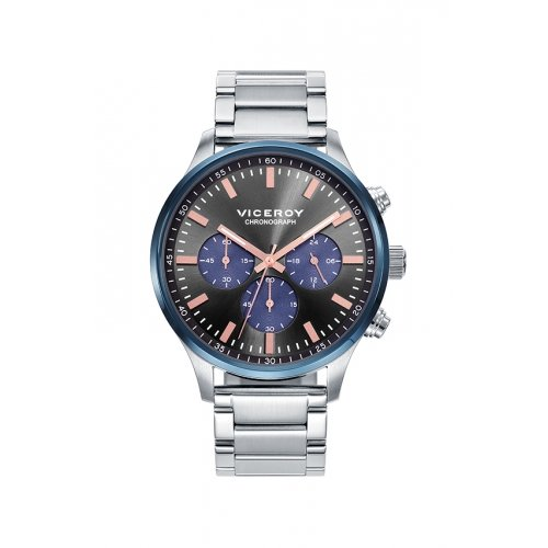 Viceroy 471055 57 Uhr Chronograph Steel Grey Man