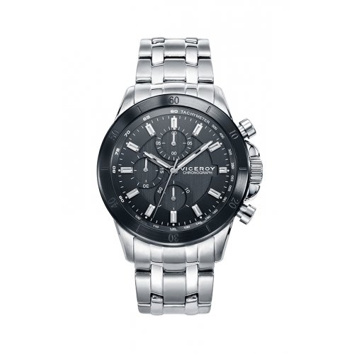 Viceroy 471063 57 Uhr Chronograph Steel Grey Man