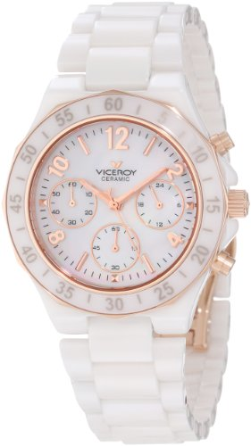 Viceroy Chronograph Edelstahl weiss 47600 95