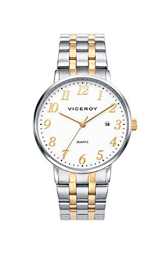 Uhr Viceroy Ritter 42235 94 Stahl bicolor