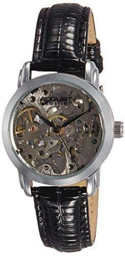 AUGUST STEINER Damen-Armbanduhr Skeleton Automatic Analog Automatik AS8033SS