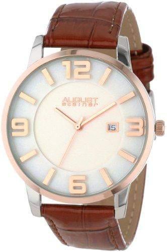 AUGUST STEINER Herren-Armbanduhr Analog Quarz AS8055BR