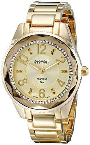 AUGUST STEINER Damen-Armbanduhr AS8122YG Analog Quarz AS8122YG