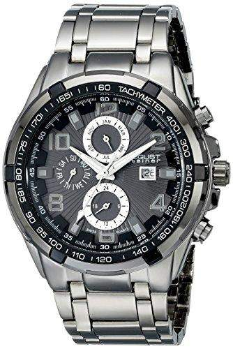 August Steiner Herren-Armbanduhr AS8127BK Analog Quarz