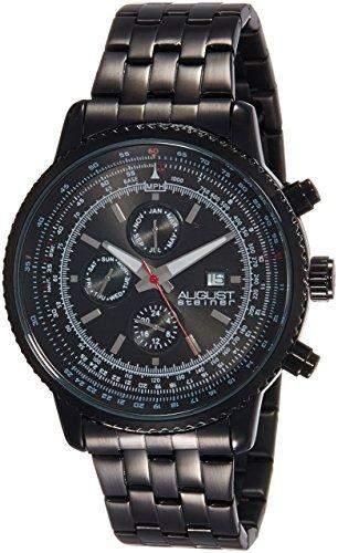 AUGUST STEINER Herren-Armbanduhr Watch Analog Quarz AS8162BK