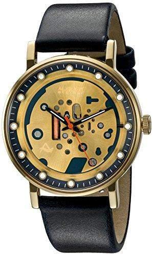 August Steiner Herren Armbanduhr Analog Display Japanisches Quarz-Blau