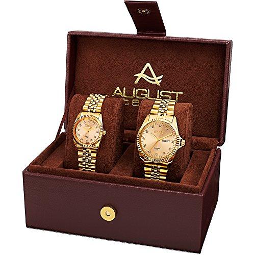 AUGUST STEINER Armbanduhr Unisex AS8201YG Analog Quarz AS8201YG