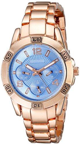 August Steiner Damen Analog Anzeige Quarz Rose Gold Watch