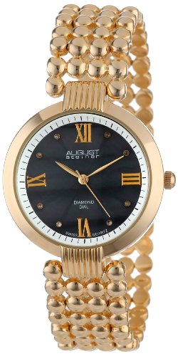 August steiner Damen Armbanduhr AS8065YG Analog Quarz