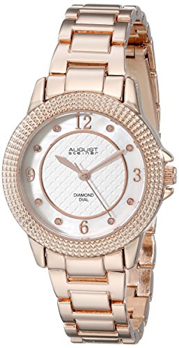 August Steiner Damen as8154rg Analog Anzeige Quarz Rose Gold Watch