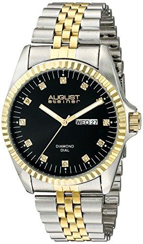 August steiner Herren Armbanduhr AS8047TTGB Analog Quarz AS8047TTGB